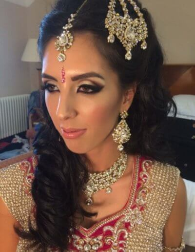 asian wedding hair and makeup newcastle
